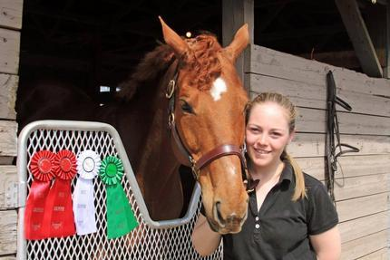 "Confidence Counts! Jane Nordstrom Training clients regularly win ribbons at local and ""A"" shows."